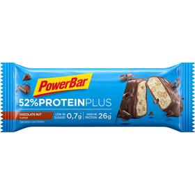 PowerBar ProteinPlus 52% Sportvoeding met basisprijs Chocolate Nuts 20 x 50g